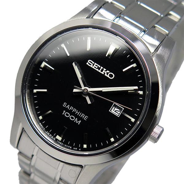 セイコー SEIKO クオーツ レディース 腕時計 SXDG63P1 ブラック