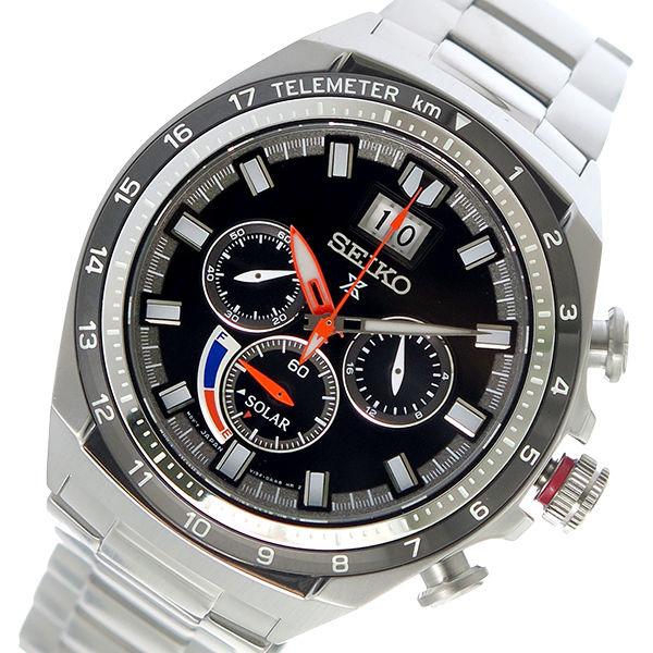 セイコー SEIKO プロスペックス PROSPEX ソーラー メンズ 腕時計 SSC603P1 ブラック