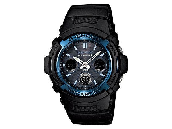 カシオ CASIO Gショック スタンダード 電波タフソーラー メンズ 腕時計 AWG-M100A-1AJF 国内正規