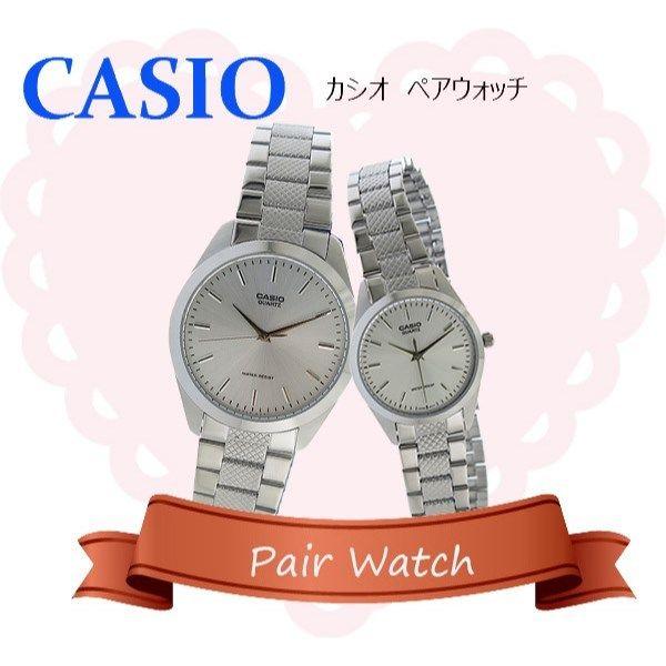 【ペアウォッチ】 カシオ CASIO チープカシオ ユニセックス 腕時計 MTP-1274D-7A LTP-1274D-7A