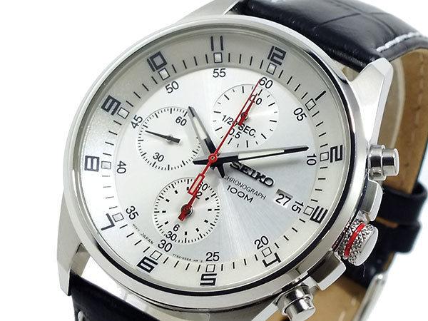 セイコー SEIKO メンズ 腕時計 1/20秒クロノグラフ SNDC87P2
