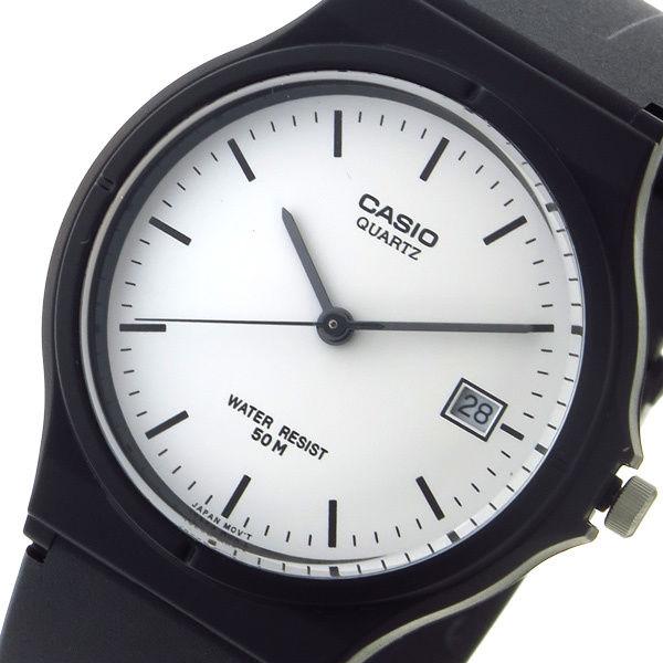 カシオ CASIO スタンダード クオーツ ユニセックス 腕時計 MW-59-7EV ホワイト