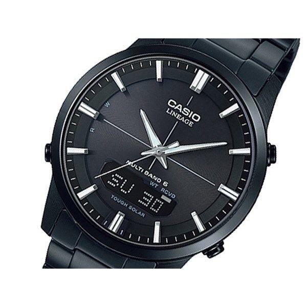 カシオ リニエージ ソーラー メンズ 腕時計 LCW-M170DB-1AJF ブラック 国内正規