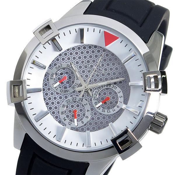 コグ COGU ソーラー クオーツ メンズ 腕時計 SOLAR-WH ホワイト