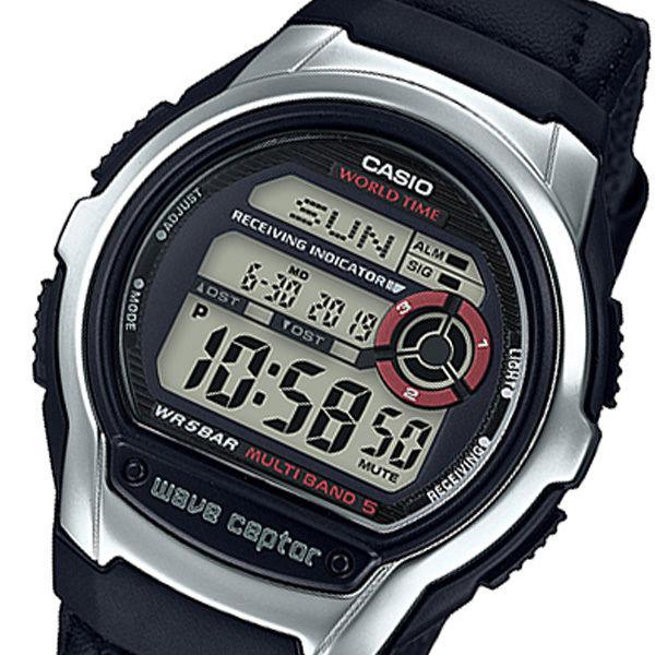 カシオ ウェーブセプター WAVE CEPTOR デジタル クオーツ メンズ 腕時計 WV-M60B-1AJF ブラック 国内正規