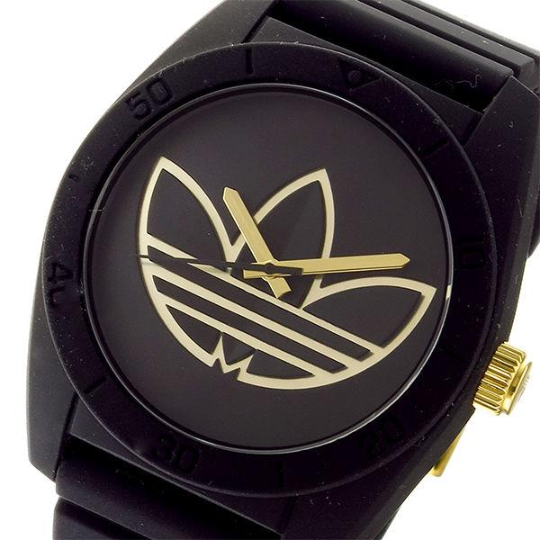 アディダス ADIDAS サンティアゴ SANTIAGO クオーツ メンズ 腕時計 ADH3197 ブラック/ゴールド