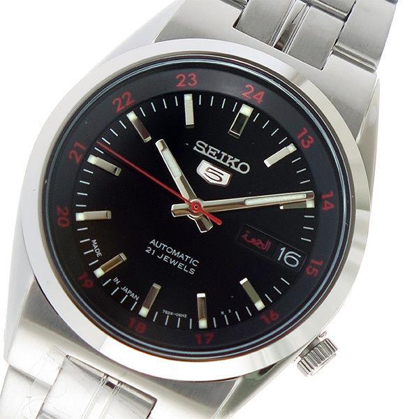 セイコー SEIKO セイコー5 クオーツ ユニセックス 腕時計 SNK569J1 ブラック