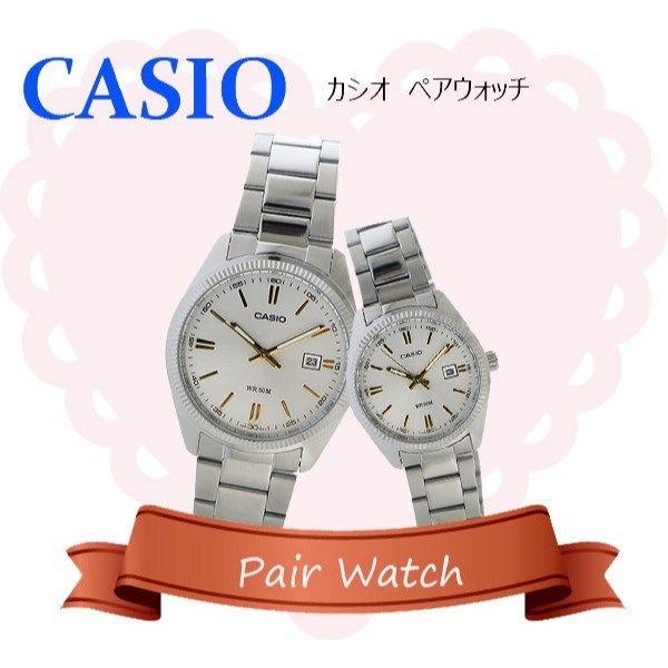 【ペアウォッチ】 カシオ CASIO チープカシオ ユニセックス 腕時計 MTP-1302D-7A2 LTP-1302D-7A2