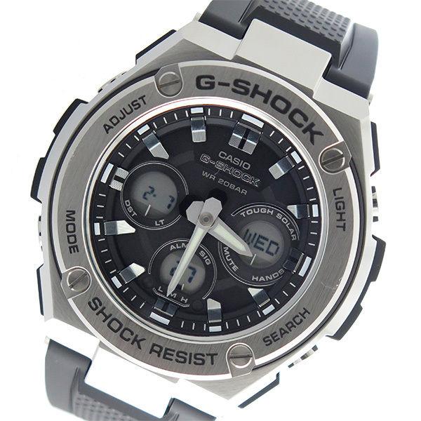 カシオ CASIO Gショック G-SHOCK Gスチール G-STEEL クオーツ メンズ 腕時計 GST-S310-1A ブラック