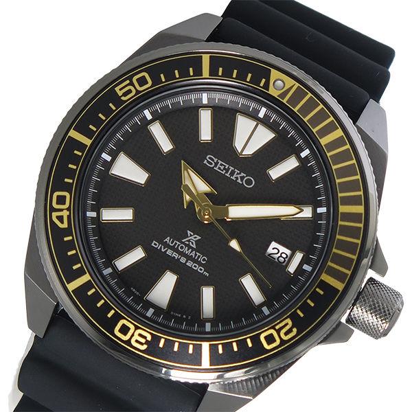 セイコー SEIKO プロスペックス PROSPEX 自動巻き メンズ 腕時計 SRPB55K1 ブラック