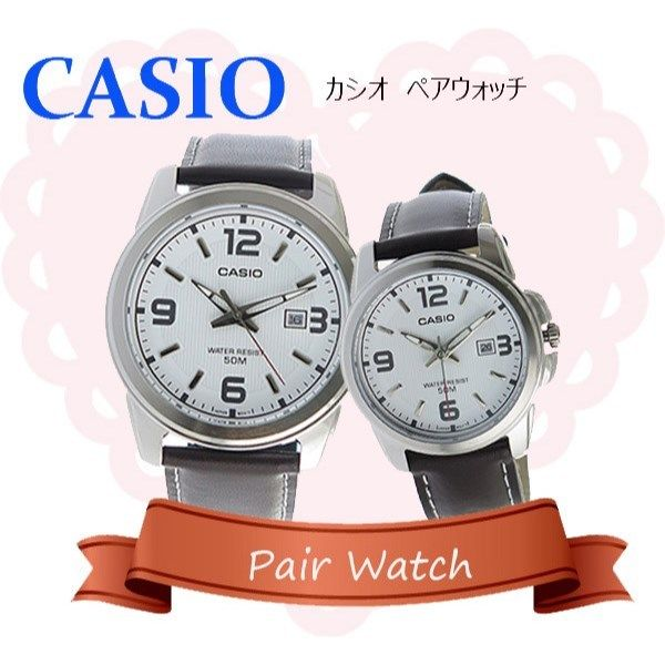 【ペアウォッチ】 カシオ CASIO チープカシオ ユニセックス 腕時計 MTP-1314L-7A LTP-1314L-7A