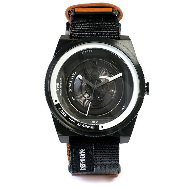 タックス TACS NATO LENS メンズ 腕時計 TS1503B ブラック