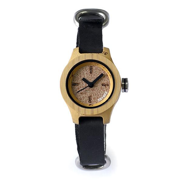 タックス TACS NATURE-S レディース 腕時計 TS1402B ナチュラル×ブラック