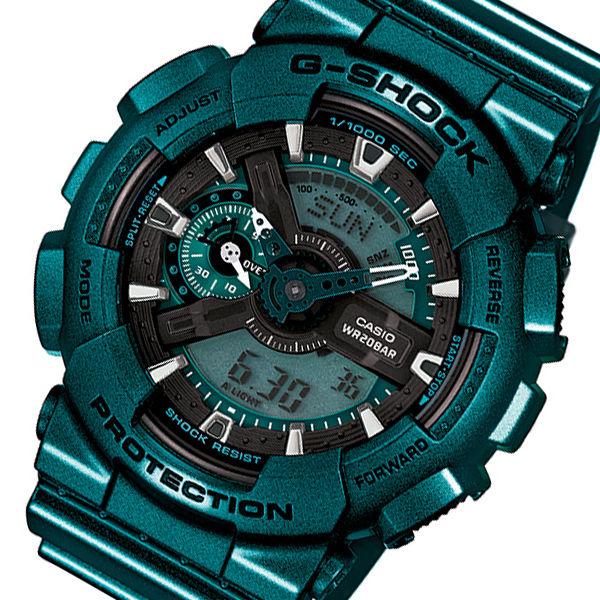 カシオ CASIO Gショック G-SHOCK メンズ 腕時計 GA-110NM-3A グリーン