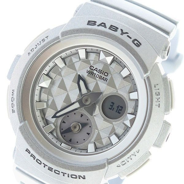 カシオ CASIO ベビーG BABY-G スタッズダイアル クオーツ レディース 腕時計 BGA-195-8A シルバー