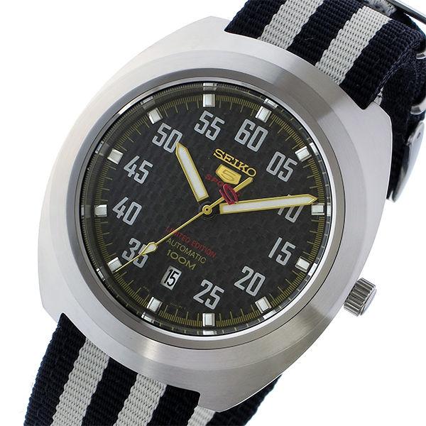 セイコー SEIKO セイコー5 スポーツ 5 SPORTS 自動巻き メンズ 腕時計 SRPA93K1 ブラック/ホワイト