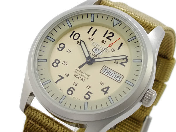 セイコー SEIKO セイコー5 スポーツ 5 SPORTS 自動巻き メンズ 腕時計 SNZG07K1