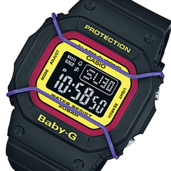カシオ ベビーG プロテクター クオーツ レディース 腕時計 BGD-501-1B ブラック