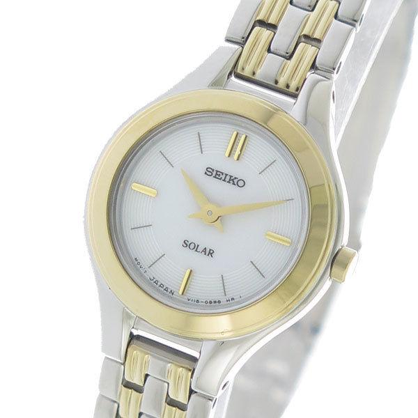 セイコー SEIKO コア Core ソーラー SOLAR クオーツ レディース 腕時計 SUP210P1 ホワイト