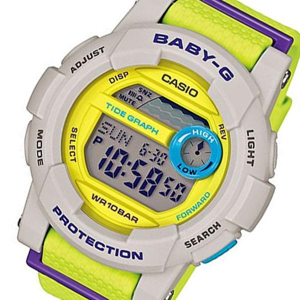 カシオ CASIO ベビーG BABY-G Gライド レディース 腕時計 BGD-180-3 イエロー