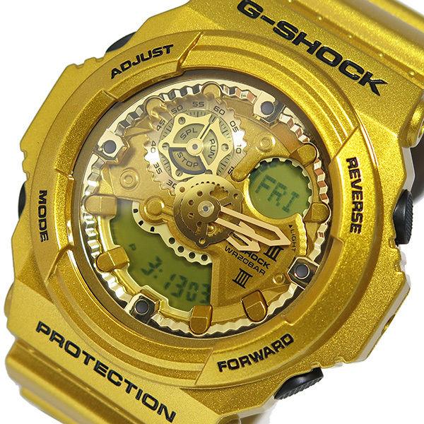 カシオ Gショック クレイジーゴールド メンズ 腕時計 GA-300GD-9A ゴールド