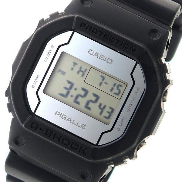 カシオ CASIO Gショック G-SHOCK ピガール PIGALLE ユニセックス 腕時計 DW-5600PGB-1 ミラー/ブラック