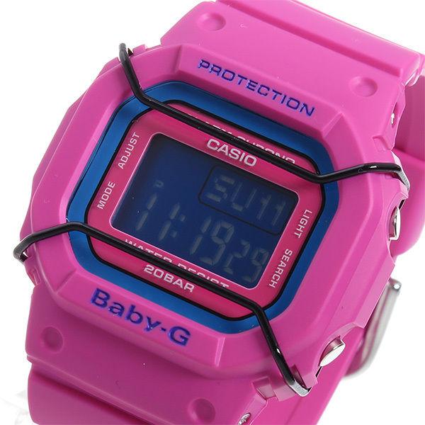 カシオ ベビーG BABY-G クオーツ レディース 腕時計 BGD-501-4 ローズレッド