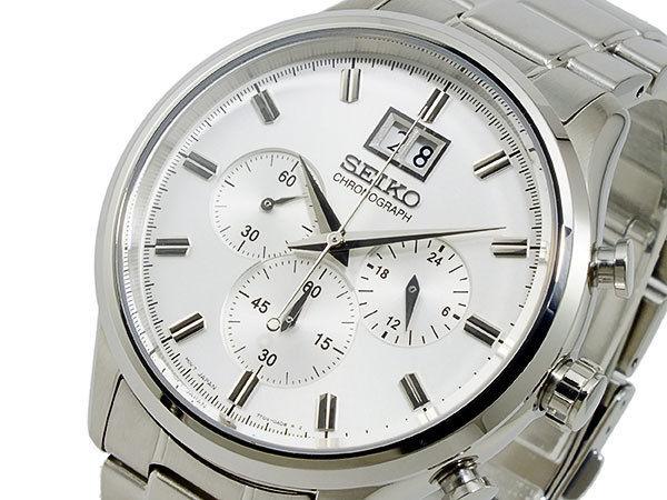 セイコー SEIKO クロノグラフ メンズ 腕時計 SPC079P1