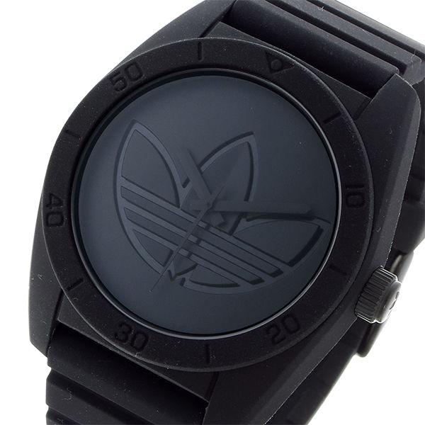 アディダス ADIDAS アバディーン ABERDEEN ユニセックス 腕時計 ADH3199 ブラック/ブラック