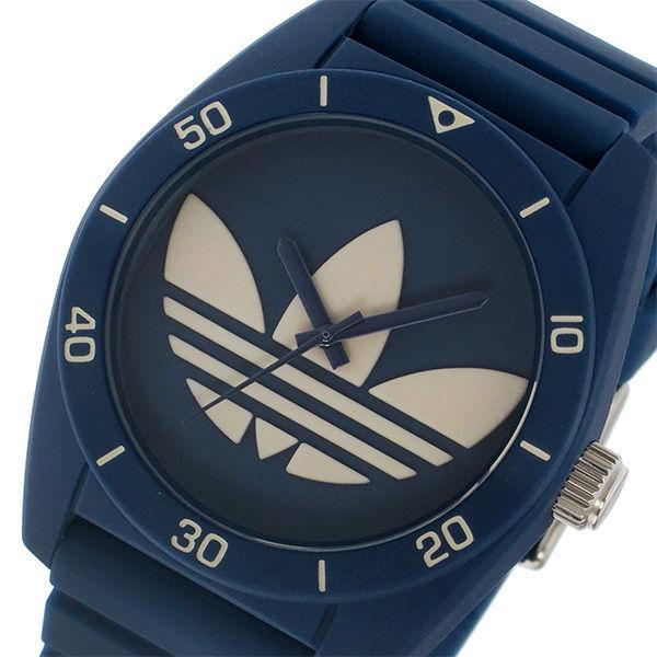 アディダス ADIDAS オリジナルス ORIGINALS サンティアゴ ユニセックス 腕時計 ADH3138 ネイビー/グレー