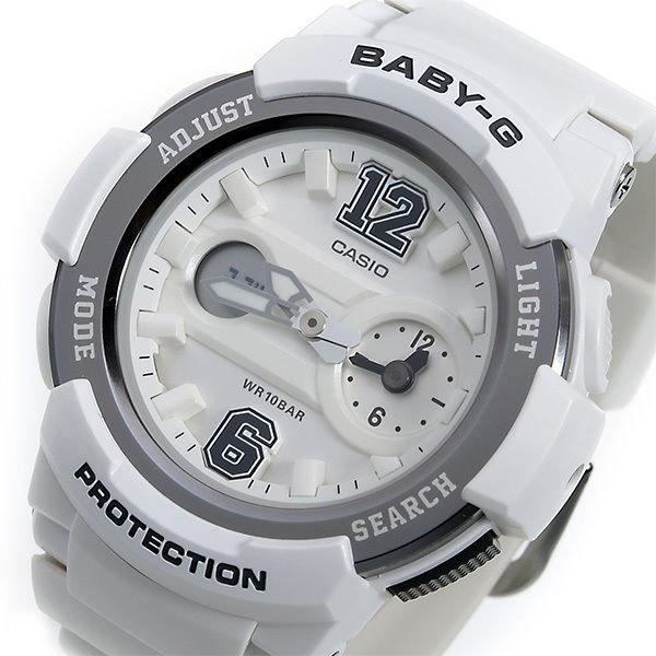 カシオ ベビーG BABY-G クオーツ レディース 腕時計 BGA-210-7B1 ホワイト