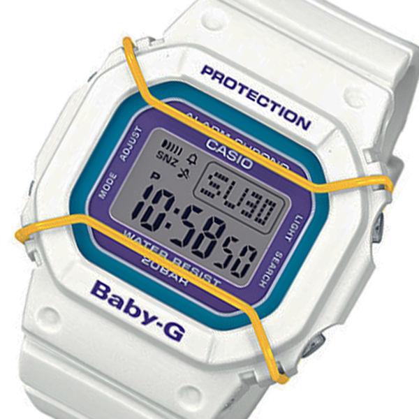 カシオ ベビーG プロテクター クオーツ レディース 腕時計 BGD-501-7B ホワイト