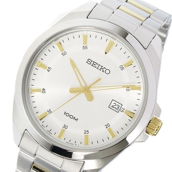 セイコー SEIKO クオーツ メンズ 腕時計 SUR211P1 シルバー