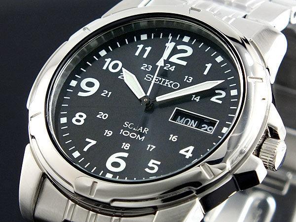 セイコー SEIKO ソーラー メンズ 腕時計 SNE095P1