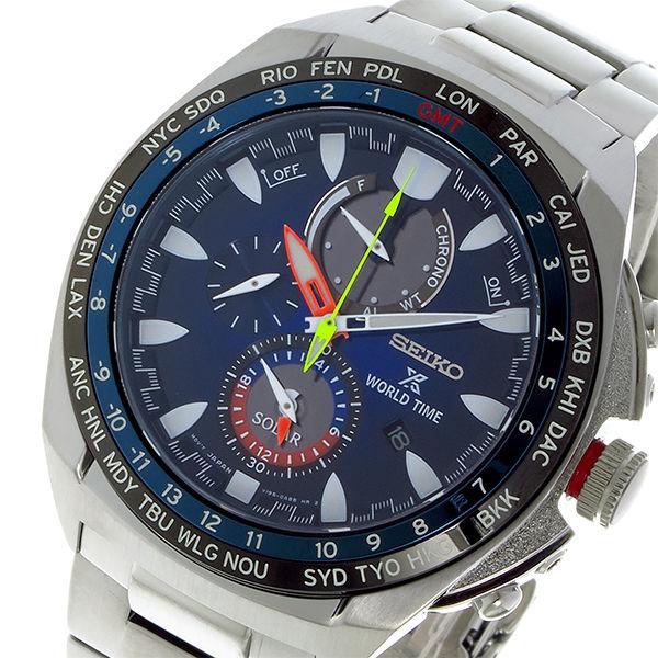 セイコー SEIKO プロスペックス PROSPEX クオーツ メンズ 腕時計 SSC549P1 ブルー