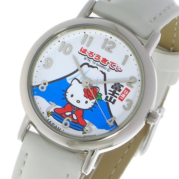 シチズン CITIZEN ハローキティ HELLO KITTY クオーツ レディース 腕時計 0023N005 ホワイト