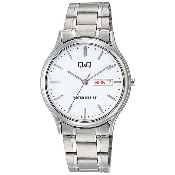 シチズン CITIZEN キューアンドキュー Q&Q メンズ 腕時計 A204-201 シルバー