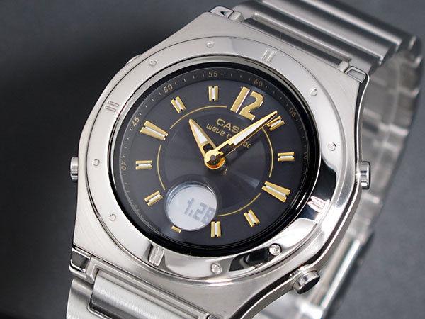 カシオ CASIO マルチバンド6 電波 ソーラー レディース 腕時計 LWA-M141D-1AJF
