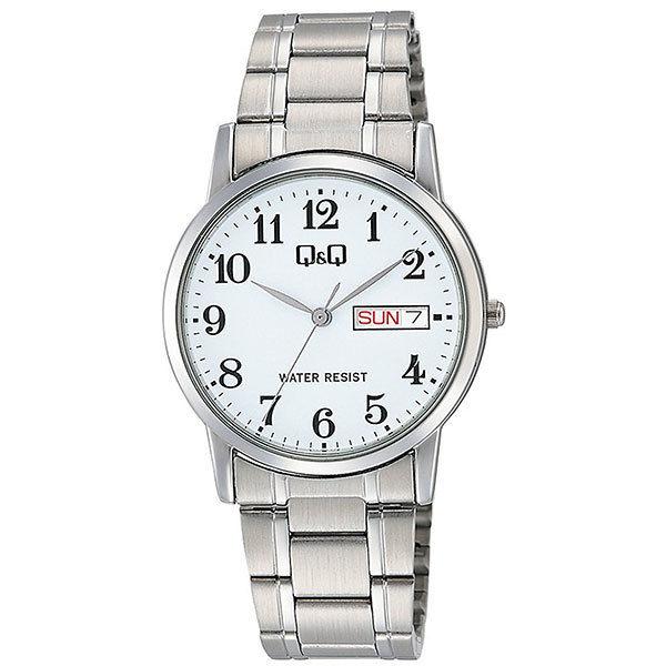 シチズン CITIZEN キューアンドキュー Q&Q メンズ 腕時計 A206-204 シルバー