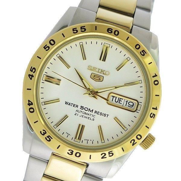 セイコー SEIKO セイコー5 SEIKO 5 自動巻き メンズ 腕時計 SNKE04K1 ホワイト