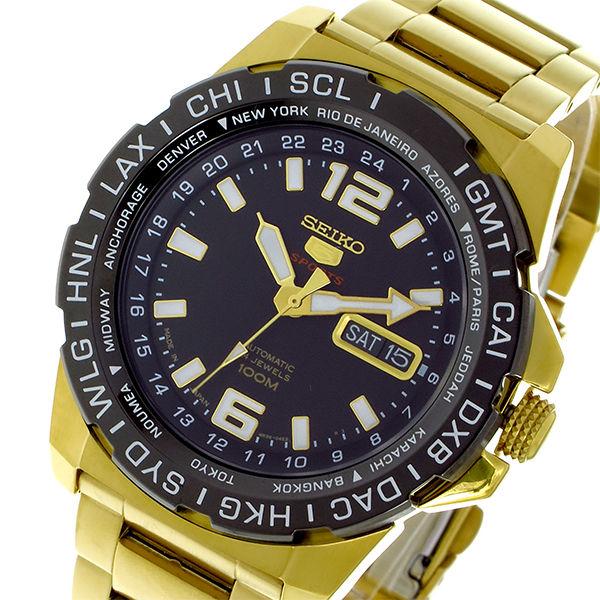 セイコー SEIKO セイコー5 スポーツ SPORTS 自動巻き メンズ 腕時計 SRP690J1 ブラック