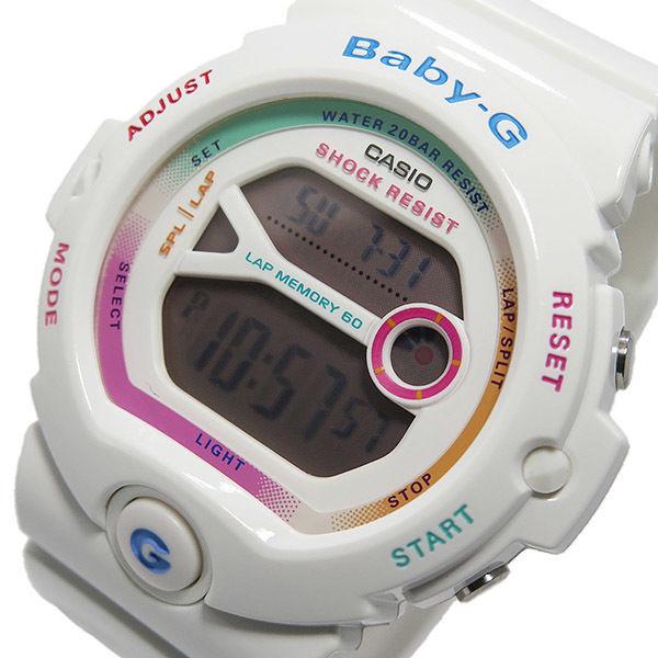 カシオ ベビージー Baby-G クオーツ レディース 腕時計 BG-6903-7C ホワイト