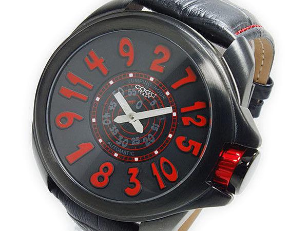 コグ COGU ジャンピングアワー 自動巻き メンズ 腕時計 JHR-BRD