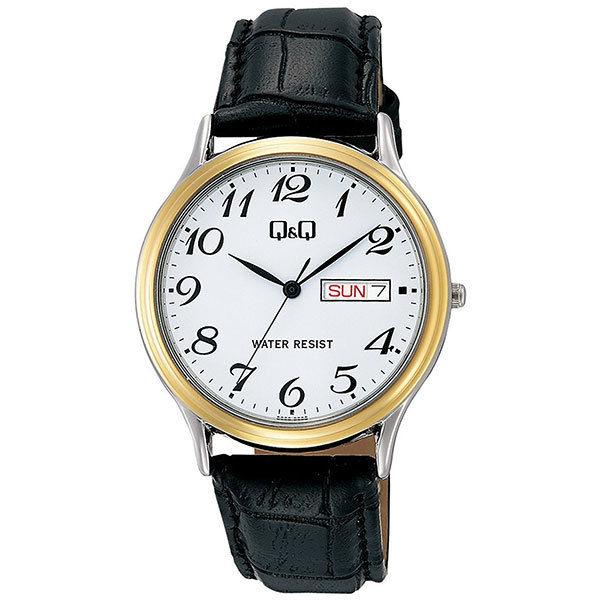 シチズン CITIZEN キューアンドキュー Q&Q メンズ 腕時計 A204-504 ブラック