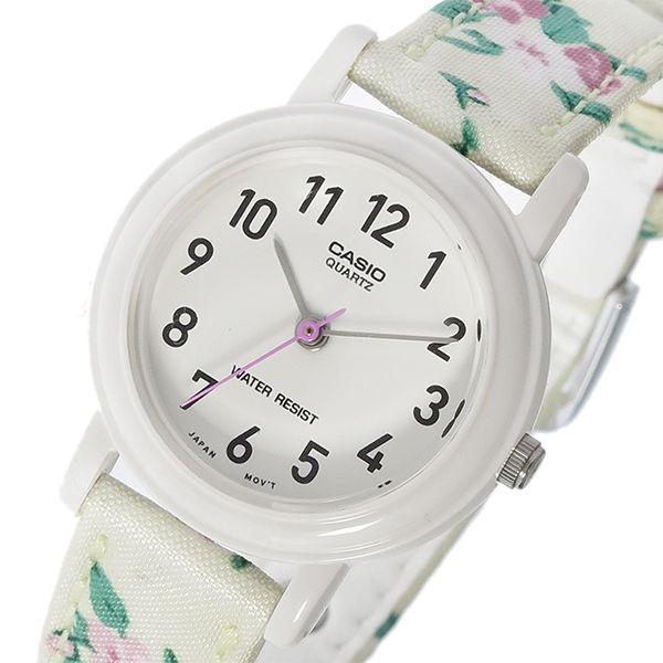 カシオ CASIO ベーシック クオーツ レディース 腕時計 LQ-139LB-7B2 ホワイト