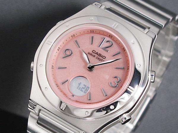 カシオ CASIO マルチバンド6 電波 ソーラー レディース 腕時計 LWA-M141D-4AJF