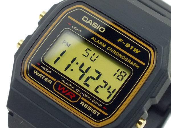 カシオ CASIO スタンダード デジタルクオーツ ユニセックス 腕時計 F-91WG-9