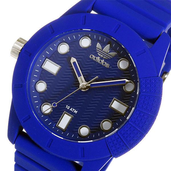 アディダス ADIDAS スーパースター クオーツ メンズ 腕時計 ADH3103 ブルー