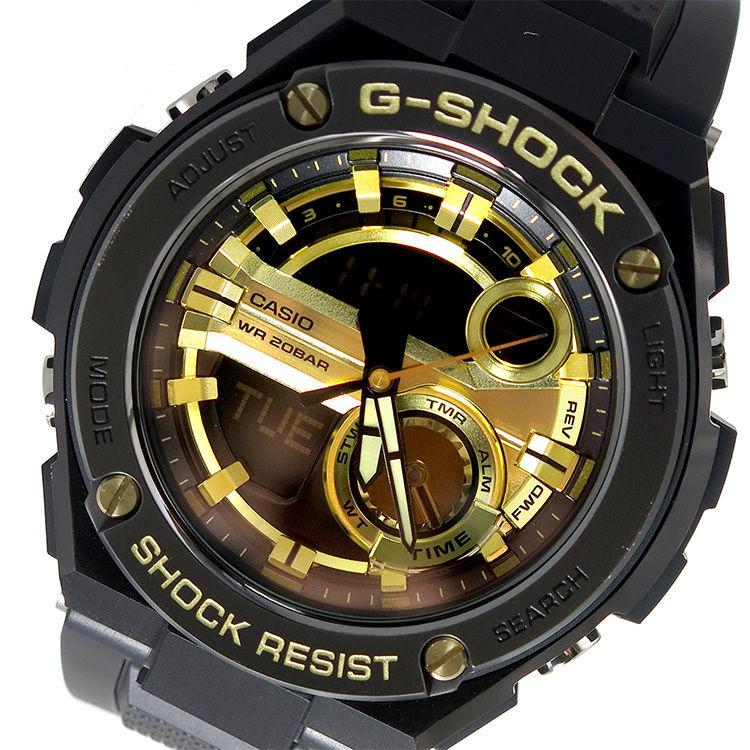 カシオ CASIO Gショック G-SHOCK メンズ 腕時計 GST-210B-1A9 ブラック×ゴールド