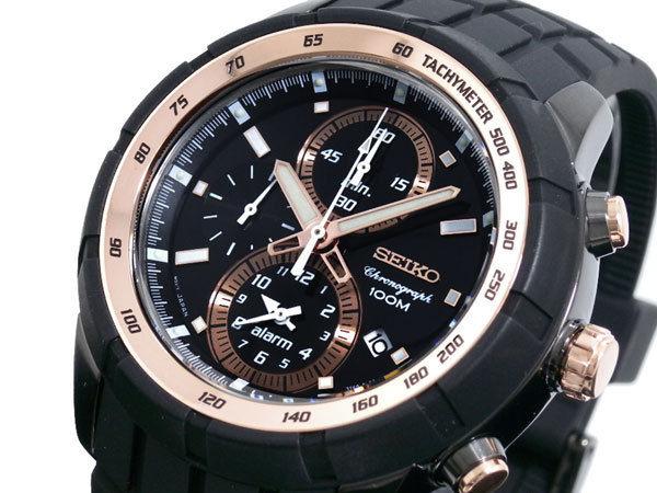 セイコー SEIKO クロノグラフ アラーム メンズ 腕時計 SNAD88P1